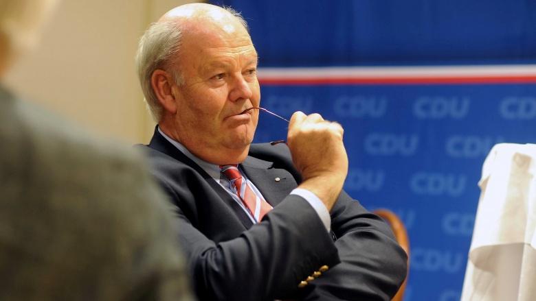 Innenminister Grote beim Kreisparteitag in Flensburg