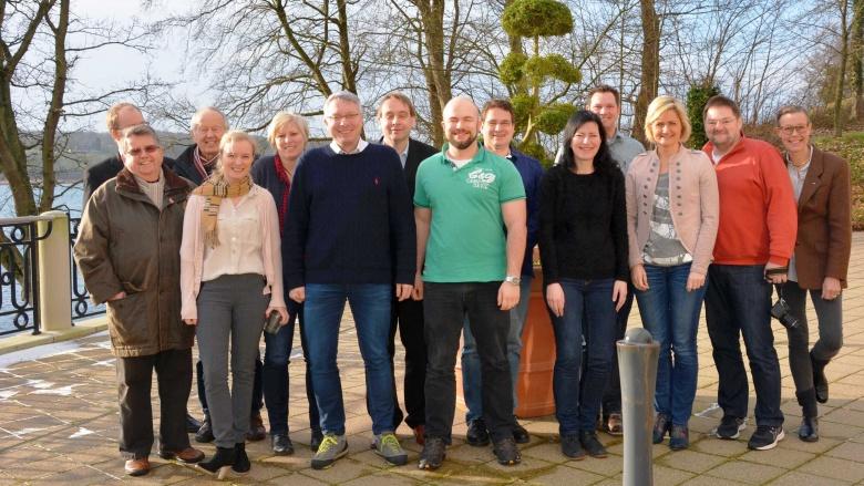 Die CDU-Fraktion am Koldingfjord