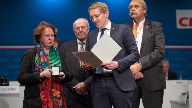Verleihung der Stoltenberg-Medaille