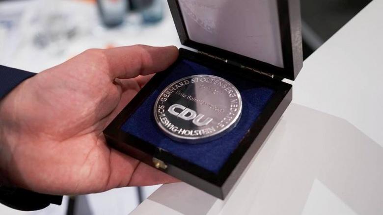Gerhard-Stoltenberg-Medaille der CDU Schleswig-Holstein
