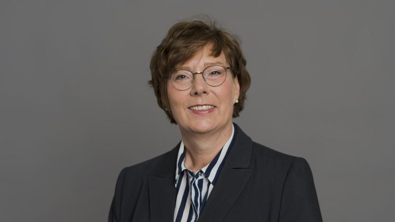 Justizministerin Dr. Sabine Sütterlin-Waack