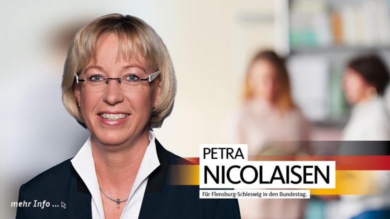 Unsere Abgeordnete im Deutschen Bundestag: Petra Nicolaisen