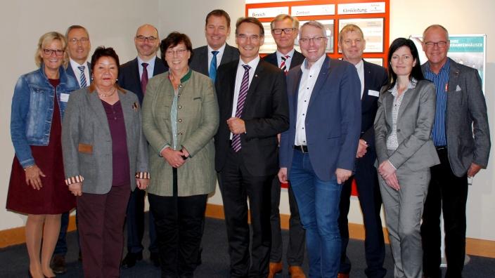 Ingbert Liebing, Arne Rüstemeier, Sabine Sütterlin-Waack: Beim Flensburger Klinikverbund