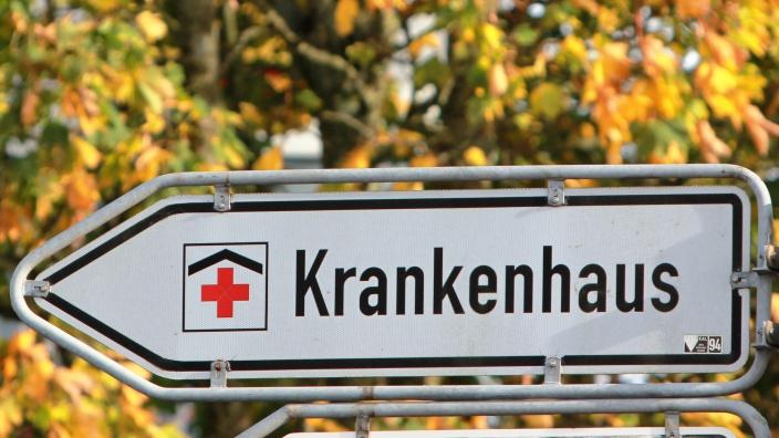 Schnelle Zufahrt zum Krankenhaus