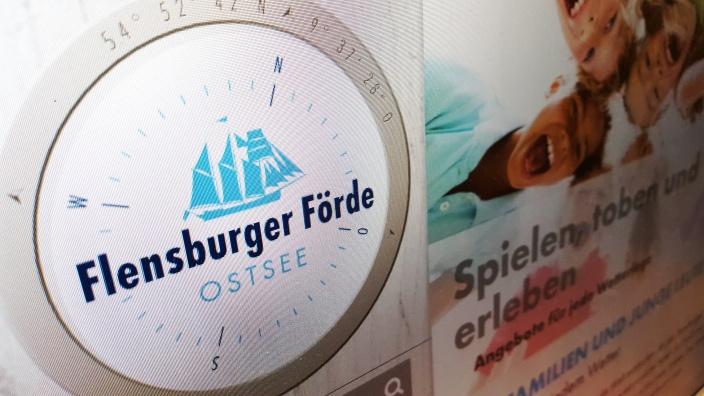Website der Tourismusagentur Flensburger Förde (TAFF)