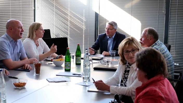 Flensburger CDU-Kreisvorstand bei der Arbeit