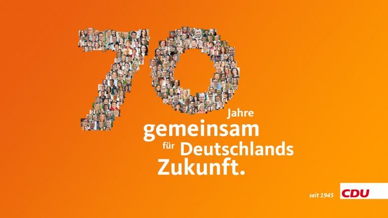 70 Jahre CDU