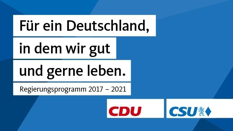 Regierungsprogramm 2017-2021