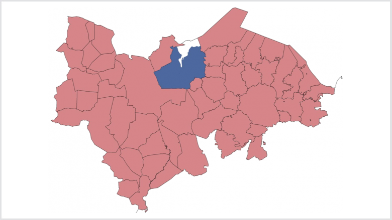 Ausdehnung Stadt-Umland-Kooperation Flensburg