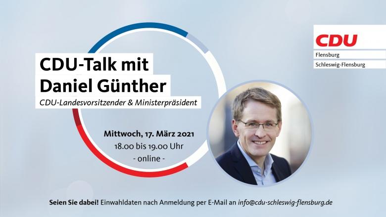 CDU-Talk mit Daniel Günther