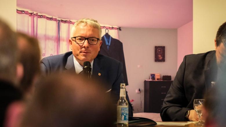 Kreisvorsitzender Arne Rüstemeier wurde einstimmig wiedergewählt