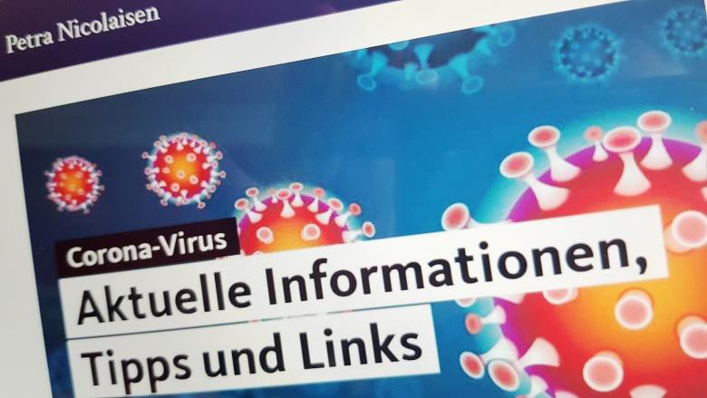 Newsletter zum Corona-Virus