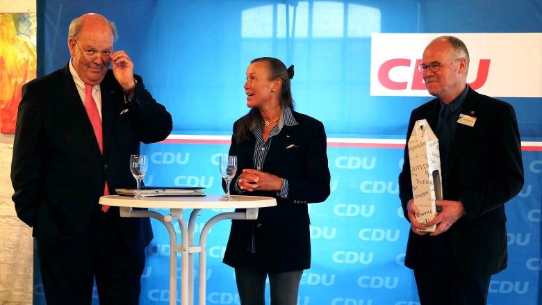 Innenminister Grote in Flensburg