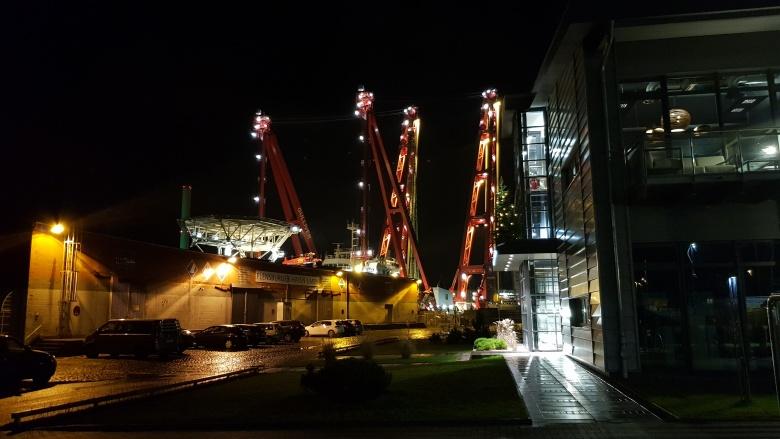 Aktivitäten im Hafen-Ost-Bereich