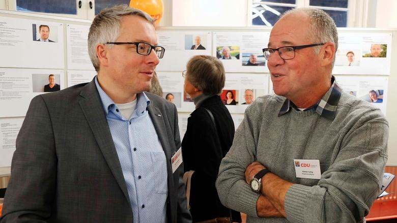 Arne Rüstemeier mit Hannes Fuhrig