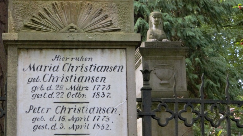 Christiansens Gärten - Alter Friedhof