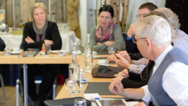 Die CDU-Fraktion bei ihrer Klausurtagung in Damp