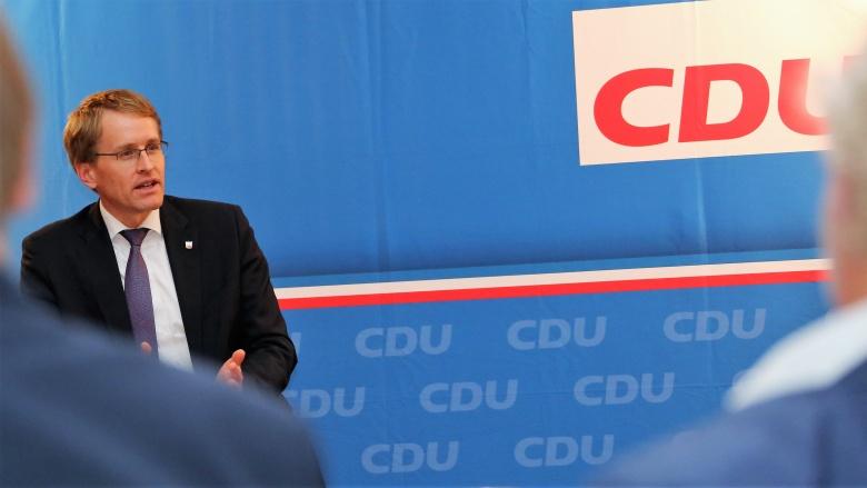 Daniel Günther in Flensburg