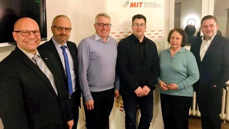 Aktive Streiter für Flensburgs Wirtschaft: MIT Flensburg und CDU