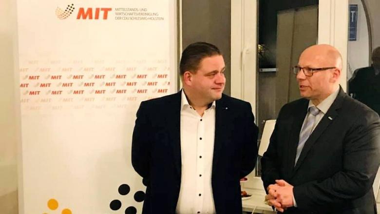 Aktive Streiter für Flensburgs Wirtschaft: MIT Flensburg und SH