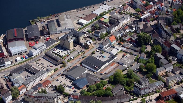 Der Kernbereich des Sanierungsgebietes Neustadt