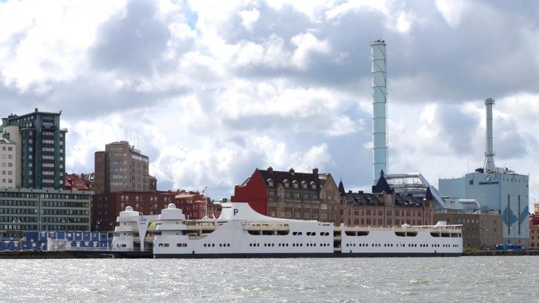 """""""Parkschiff"""": Dieses Beispiel liegt in Göteborg"""