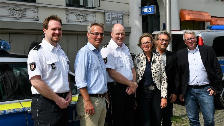 Gespräch mit Flensburger Polizei