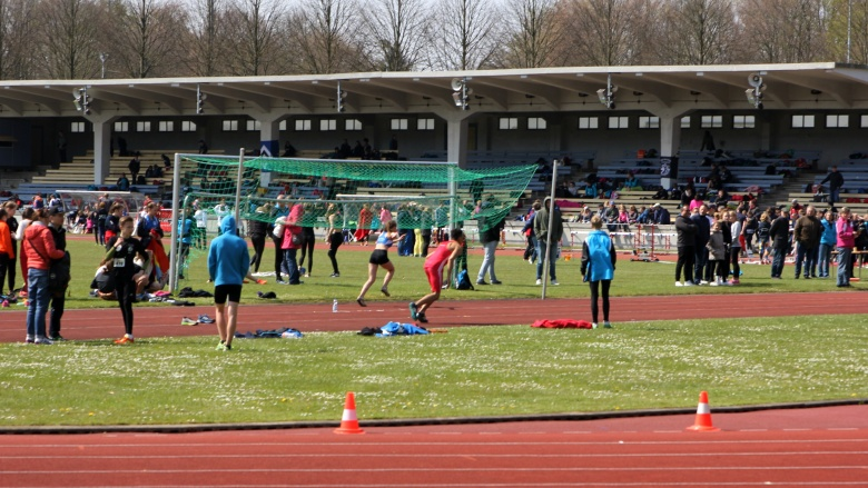 Lauftag im Stadion Flensburg