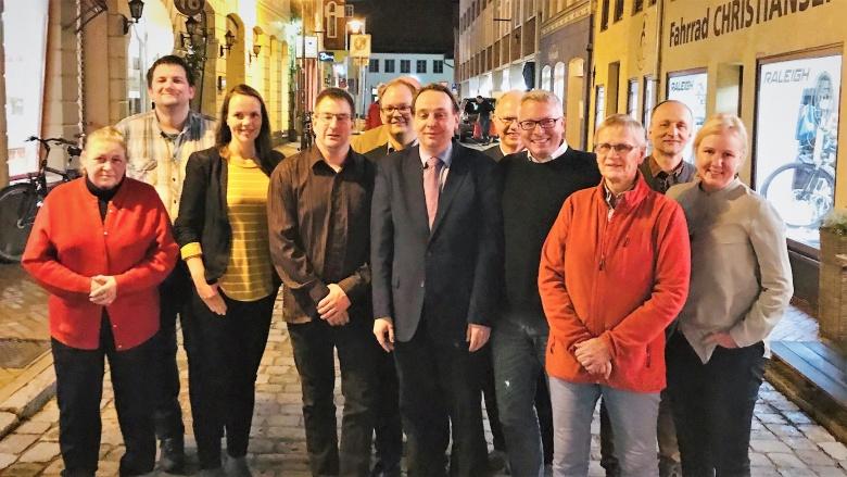 Vorstand und Freunde der CDU Flensburg West