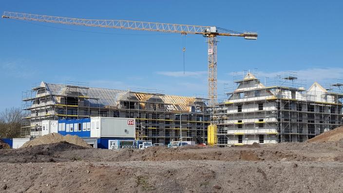 Baugebiet in Flensburg