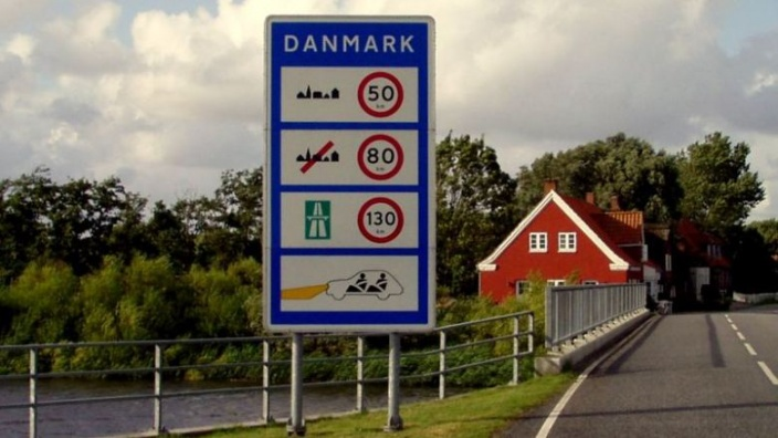 Grenzübergang zu Dänemark
