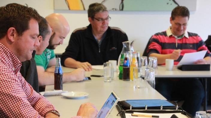 Flensburger CDU-Ratsfraktion bei der Arbeit