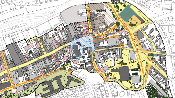 Rahmenplan westliche Altstadt